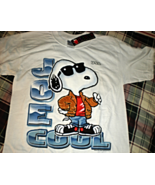 Snoopy Joe Cool T-Shirt (Size Medium) - $7.75