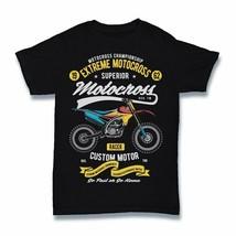 Extreme motocross Tshirt funny motorcycle biker race cartoon S-3XL - £9.79 GBP+