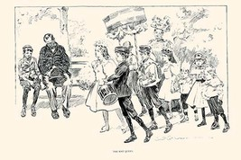The May Queen by Charles Dana Gibson - Art Print - $19.99+
