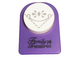 Family Treasures Fancy Rounded Corner Punch