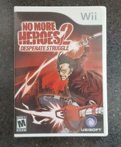 No More Heroes 2 Desperate Struggle (Nintendo Wii, 2010) Complete - $38.00
