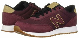 NEW BALANCE CLASSIC 501 SNEAKERS TRAINER SPORTS MEN SHOES BURGUNDY SIZE ... - $79.19
