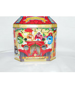 M Ms Christmas Village #06 Canister Cannister Fire House 1997 5 1/2  Inc... - $5.99