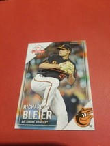 Richard Bleier 2019 Baltimore Orioles Topps National Baseball Card Day #9 - $3.96
