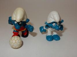 Schleich Peyo 1980's Smurf PVC Figures - $7.59