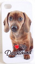 I Love My Dachshund Hard Case for iPhone 4 and 4S - $9.99