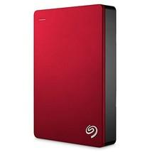 Seagate Backup Plus 5TB Portable External Hard Drive USB 3.0, Red (STDR5... - $133.30