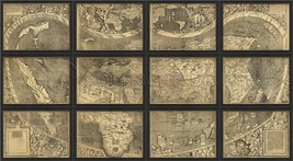 Artwork Map in Panels Small EB New SC-759 FREE SHI - $1,809.00