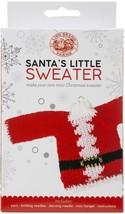 Lion Brand Santa's Little Sweaters Yarn Kit-Santa Claus - $26.93