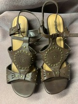 Soda Womens Dress Shoes Strappy Platforms Wedges Sandals Size 9 Brown - $13.98
