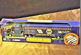 Blue Michele Wally #15 Die-Cast Collector Trailer Rig Winner's Circle AA19-NC80 image 4