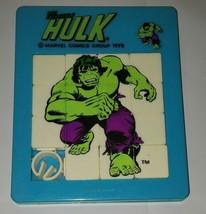 The Incredible Hulk Vintage 1978 Sliding Puzzle Marvel Comics - £11.27 GBP