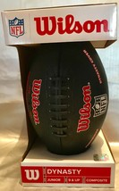 Wilson DYNASTY NFL Junior Composite Football NEW For Players 9 Years & Older - $24.83