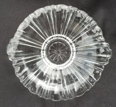 Anchor Hocking Clear Depression Glass Old Cafe Mint Dish - $11.00