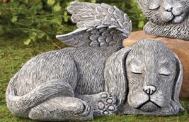 Winged Puppy Garden Memorial - $24.55