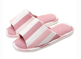 (Made By Cotton) Skidproof The Simple Style Of Home Slippers(Vertical Stripes) image 2
