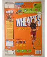 MT WHEATIES Box 2007 18oz HUNTER KEMPER  Triathlete Champion [G7E13h] - $7.17
