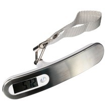 New 50kg/10g Portable LCD Digital Hanging Luggage Scale Travel Electroni... - €10,56 EUR