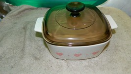 CORNING WARE FOREVER YOURS A-1&1/2-B CASSEROLE + PYREX A-7-C LID FREE US... - $28.04