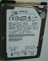 "NEW Hitachi HTS541616J9AT00 160GB 2.5"" 9.5mm IDE 44PIN Hard Drive Free USA Ship"