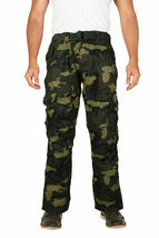 Men's Tactical Combat Military Army Work Twill Cargo Pants Trousers image 10