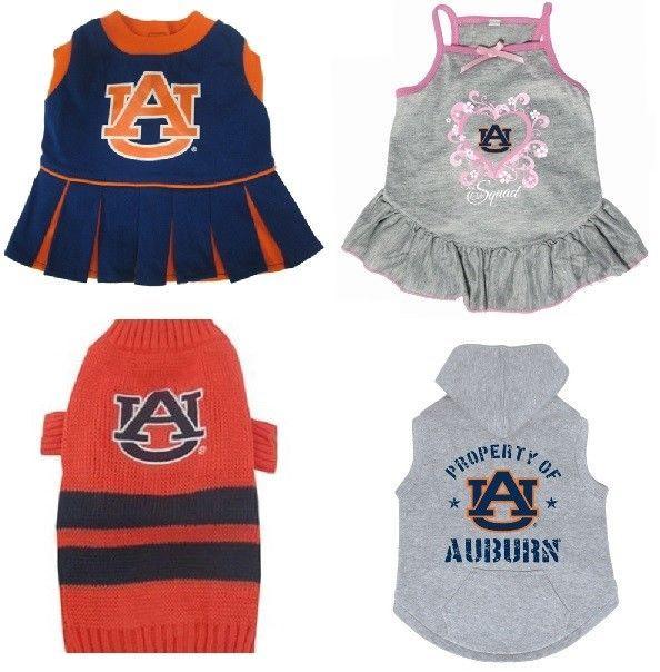 Auburn Tigers NCAA Licensed Dog Dress, Sweater, Sweatshirt ...