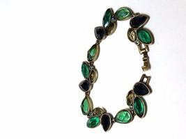 Vintage Multi Color Multi Shape Lucite Stone Bracelet - $22.50