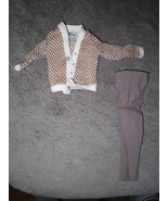 Mattel Barbie Doll Clothes - Ken Fraternity Meeting #1408 - 1964 BW Label - $9.00