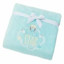 Just Born Shining Star Blue Green Aqua Shining Star Owl Bird Plush Blank... - $59.39