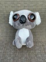 Aurora Small Gray and White Plush Stuffed Animal - $14.75