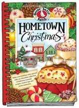 Gooseberry Patch Hometown Christmas Cookbook Hardback Plastic Spine NEW ... - $9.49