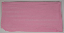 Circo Pink Receiving Blanket 29x28 Security Lovey Baby Dashes Lines Girl... - $153,54 MXN