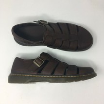Dr Martens Men Size 13 Fenton Brown Leather Fisherman Sandals - $76.99