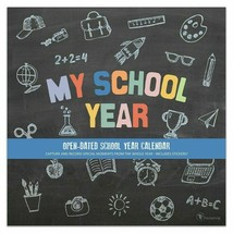 "My School Year Open Dated (Non Specific) Wall Calendar 12""X12"" Includes ... - $7.00"