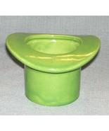 Vintage HAEGER POTTERY Green TOP HAT Planter  #331 U.S.A. - $5.95