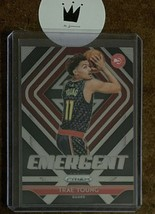 2018-19 Panini Prizm Trae Young #5 Emergent ROOKIE CARD-Hawks - $5.00