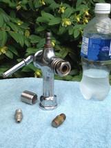 2 Way filling INDUSTRIAL Steampunk Chrome / Bronze Brass Spigot FOUNTAIN... - $99.00