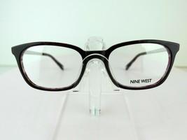 Nine West NW 8003 (519) Purple Tortoise 51 x 18 135 mm PETITE Eyeglass F... - $69.25