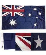ALBATROS 3x6 Embroidered Sewn Australia Australian 300D Nylon Flag 3inx6... - $82.88