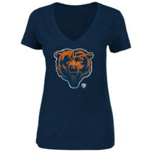 Majestic Womens NFL Defiant Victory Short-Sleeved Tee Bears M #NIO20-351 - $17.99