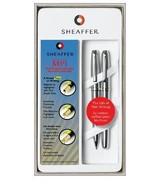Sheaffer MPI Brushed Chrome Pen & Pencil Set - $59.99