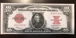 Reproduction $10 Bill 1923 Poker Chip Back United States Note USA Jackson - $2.96
