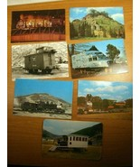 7 Postcards Locomotives, carriages, - $8.99