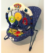 Fisher Price Calming Vibrations Kick and Play Musical Baby Bouncer Seat ... - $74.99