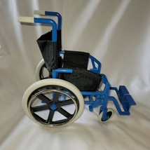 "Retired 18"" American Girl Pleasant Company Doll Blue Black Wheel Chair - $19.79"