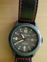 Chronologia Pilot Warm Gray NH 35 Automatic 45.5 mm w Black Canvas Strap... - $148.50