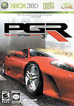 Project Gotham Racing 3 PGR (Microsoft Xbox 360, 2005) DISC IS MINT - $4.67