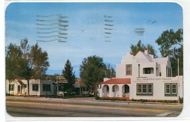 Casa Motel Colorado Springs CO 1957 postcard - $6.39