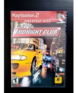 Midnight Club: Street Racing (Sony PlayStation 2, 2000) - $5.57