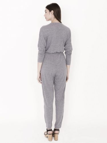 NEW American Apparel Women's Heather Bristol Natural Madeline Jumpsuit M RSA0397